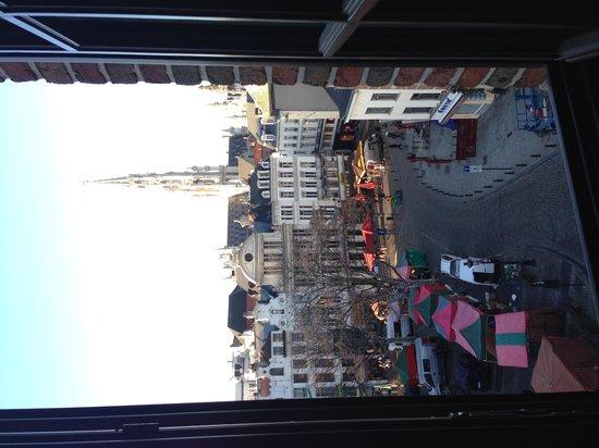 Ibis Brussels off Grand Place: Vista dalla camera