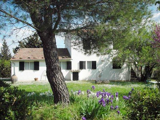 Il giardino dell'agriturismo Vignagrande a Saturnia