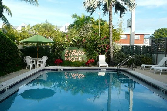 Delightful El Patio Motel: The Swimming Pool With El Patio Key West
