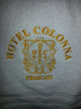Hotel Colonna: asciugamano