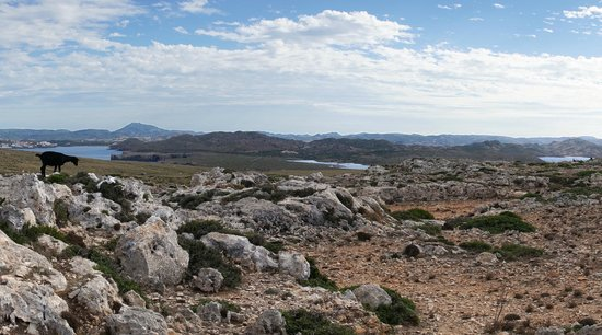 Jeep Safari Menorca: View back across the island