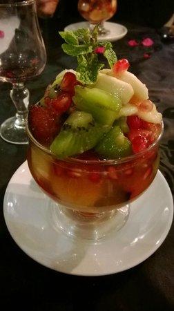 Riad des Arts : le dessert