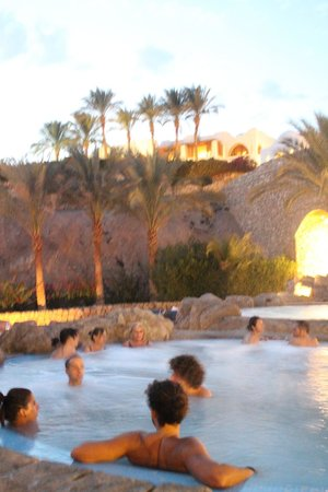 Domina Coral Bay Prestige Hotel: Piscine della SPA