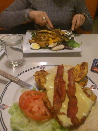 The Market Diner : chiken bacon and chese