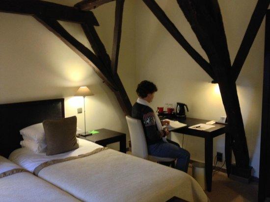 Martin's Klooster Hotel: Onze kamer (1)