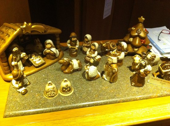 Presepe dell'hotel Holiday