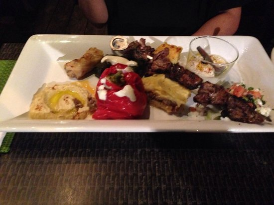 Vesna Taverna: Greek night mezze platter