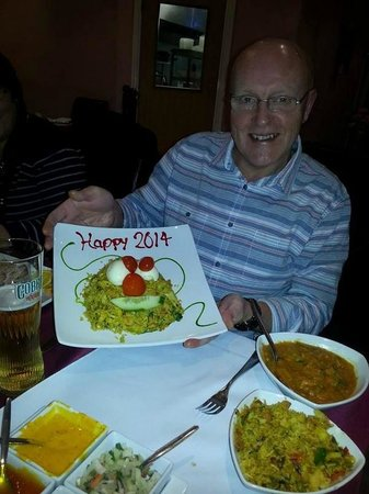 Panacea Premier Indian Dining: happy new year