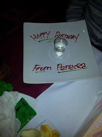 Panacea Premier Indian Dining: sambouka