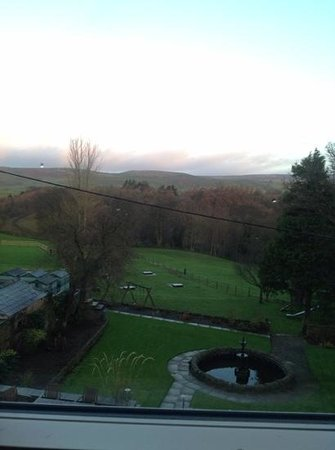 Aysgarth Falls Hotel: view from my room