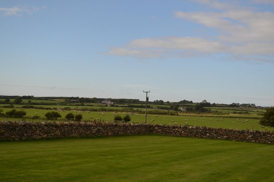 The stunning views surrounding the Outbuildings
