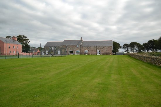 A view of the Outbuildings