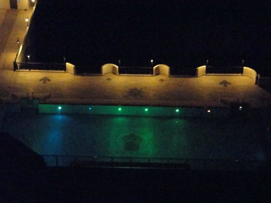 Alkoclar Adakule Hotel : Foto desde la habitación de la piscina.