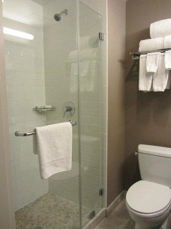 Distrikt Hotel New York City: Banheiro pequeno, mas a limpeza é impecável