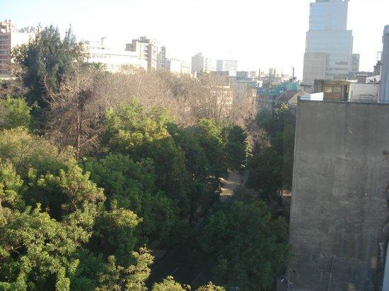 Hotel Montecarlo: Vista do apartamento (ultimo andar)