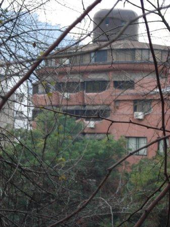 Hotel Montecarlo: Hotel visto pelo Cerro de Santa Lucia