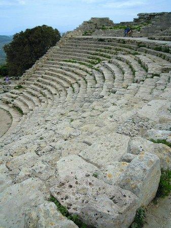 Tempio di Segesta (Tempio Influenza Greca): Teatro ellenico