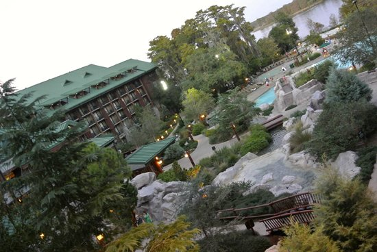 Disney's Wilderness Lodge : Courtyard View Room