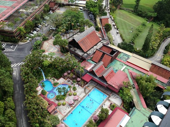 Awana Hotel, view from the 25th  floor.