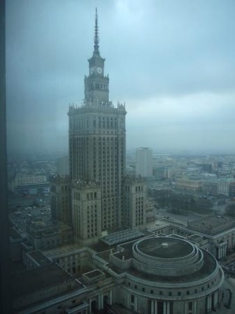InterContinental Warszawa : view from our room 2915 on the 29th floor.