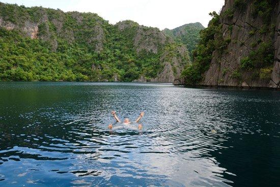 Barracuda Lake: Цвет воды!