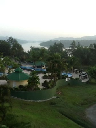 Gamboa Rainforest Resort: view from room 405