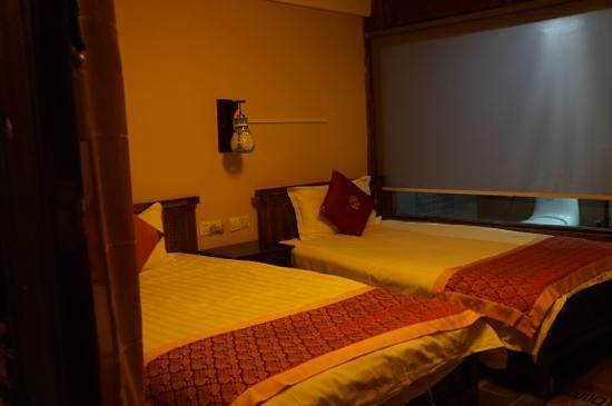 Zhenmei Holiday Inn Hemei: the bedroom