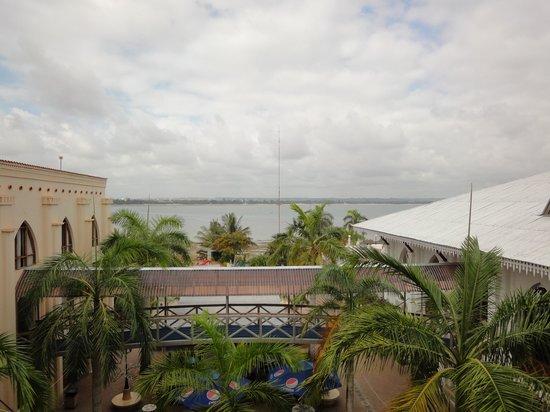 Hotel Slipway: Utsikt från vårt rum