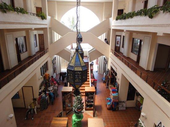 Hotel Slipway: shoppingområdet i anslutninig till hotellet