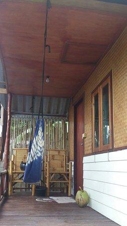 Comon Bungalow: Terrasse eines Bungalows