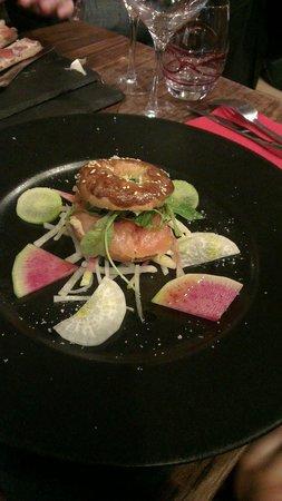 Baitona : Bagels de saumon