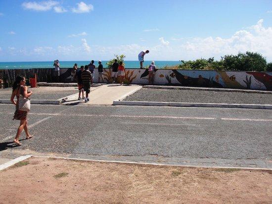 Ponta do Seixas Beach: mosaicos