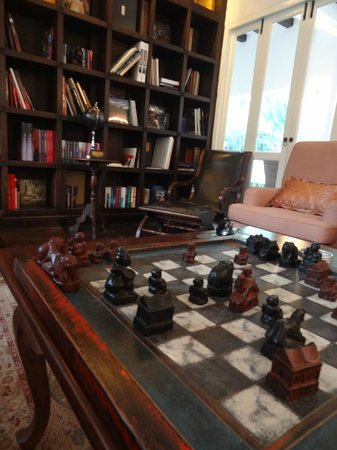 Ping Nakara Boutique Hotel & Spa: Library