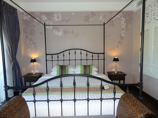 Ping Nakara Boutique Hotel & Spa: Large comfy bed