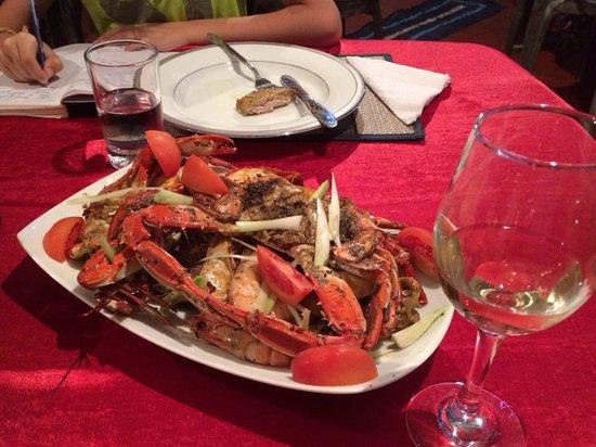 Red Lobster Tours Spa & Restaurant: Отличный набор морепродуктов !!!
