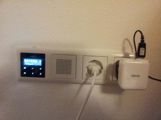 Gästehaus an der Sempt: Wall radio