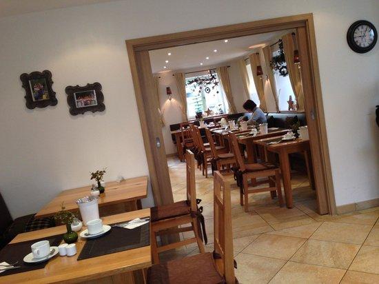 Gästehaus an der Sempt: The breakfast room