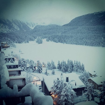 Hotel Schweizerhof: Snowstorm