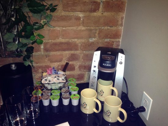 The French Quarters Guest Apartments: coffee maker