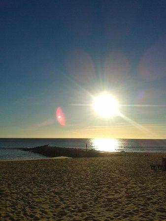 Dom José Beach Hotel : beginning of dusk
