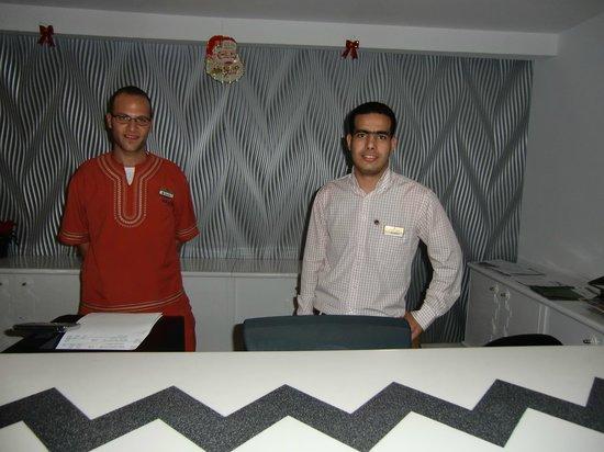 Kahramana Hotel: Abdo e Ibrahim