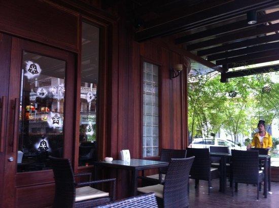 Phi Dao Hotel: nice terrace