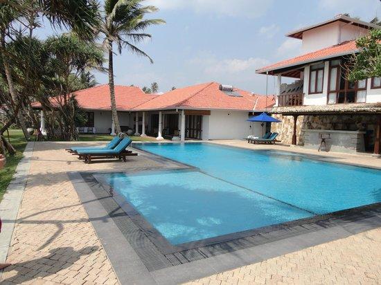 Mosvold Villa: Pool area