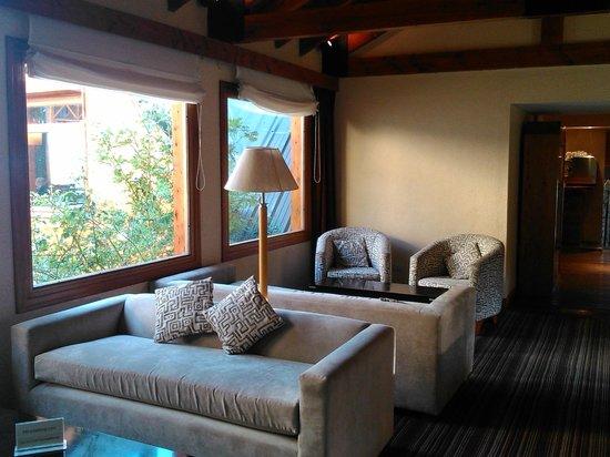Hotel Mirador del Lago: sala de estar