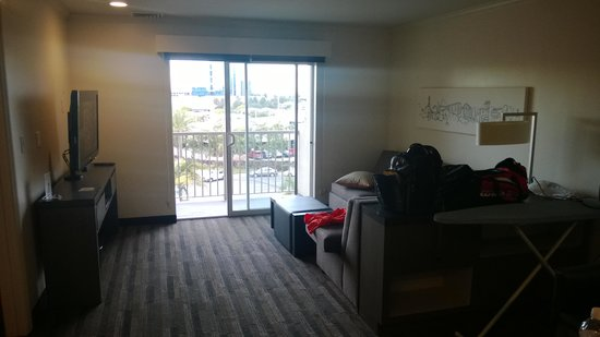HYATT house San Diego/Sorrento Mesa: Living room
