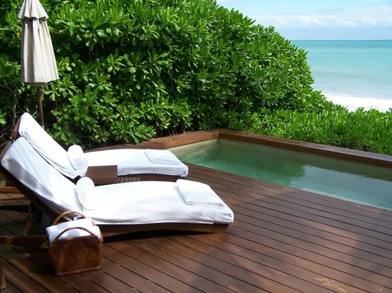 Rosewood Mayakoba: private plunge pool and patio...