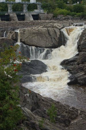 Grand Falls Gorge: The Falls in September
