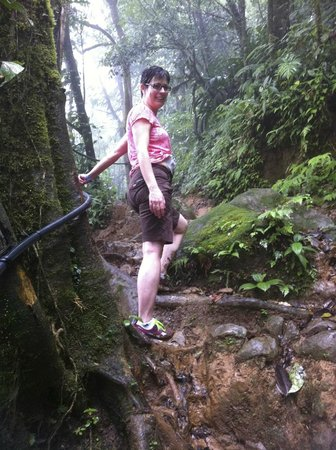 Rio Celeste: Muddy, Steep - difficult hike
