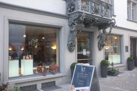 Chocolaterie Köelbener Café Pelikan