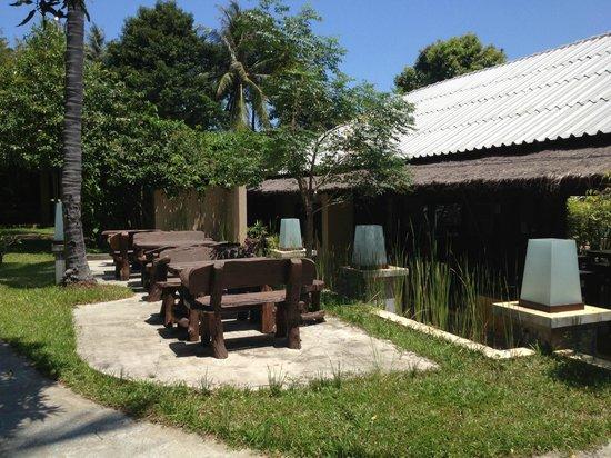 Mayaburi Boutique Resort: salle petit déjeuner TR